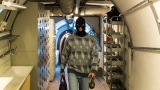 Unterwegs als Geheimsoldat in der Schweiz
