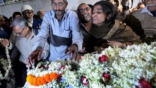 Vergewaltigungsopfer nach Brandanschlag gestorben