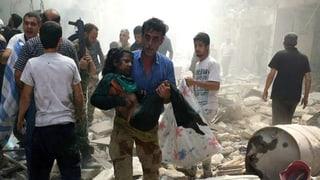 Die EU drängt in Syrien auf Zonen, die nicht bombardiert werden
