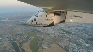 «Here we are, Europe!» – Solar Impulse in Sevilla