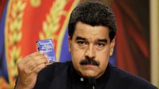 USA verschärfen Sanktionen gegen Venezuela