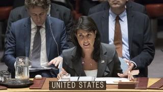 USA treten aus UNO-Menschenrechtsrat aus