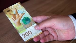 Nova bancnota da 200 francs