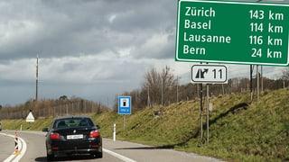 Wie Autobahn-Distanzen gemessen werden