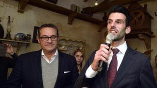 Der Rückzug hat sich abgezeichnet: FPÖ-Kandidat im Nazi-Strudel