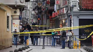 Vier Tote bei Selbstmordanschlag in Istanbul