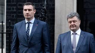 Klitschko will nicht Präsident der Ukraine werden