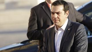 Tsipras fordert Hotspots in der Türkei