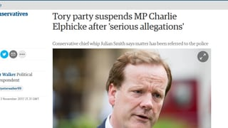 Tories schliessen Parlamentarier wegen «schwerer Vorwürfe» aus