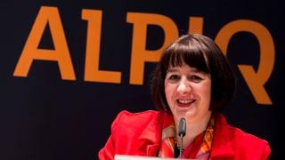 Alpiq-Chefin will Strom-Abgabe für Wasserkraft
