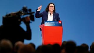 Eine Frau will SPD-Geschichte schreiben