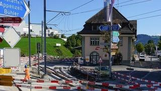 Appenzeller Bahnen und Kanton bauen - das Gewerbe hat Angst