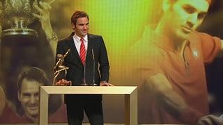 Roger Federer ist «Sportler des Jahres»