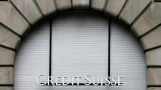 Zürcher CS-Banker bangen um ihren Job