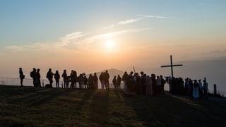 Sonnenaufgang mit «Schweiz aktuell»