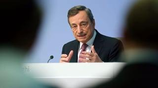 Draghi geht aufs Ganze