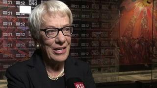 «Ich bin sehr froh über das Urteil», sagt die ehemalige Chefanklägerin des Haager Tribunals, Carla del Ponte.