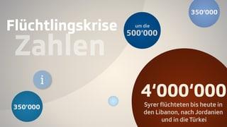 Flüchtlingskrise in Zahlen