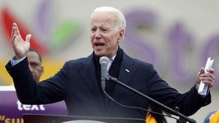 Joe Biden steigt ins Rennen