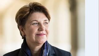 Viola Amherd wegen Nierensteinen im Spital