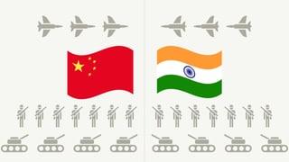 Die militärischen Grossmächte Indien und China