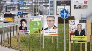 Neun Kandidierende, aber bloss sieben Regierungssitze