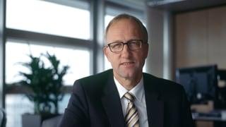 Peter Hegglin will oberster Finanzdirektor werden
