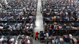 Deutsche Amazon-Mitarbeiter streiken weiter