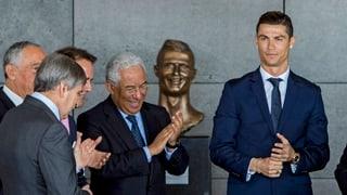 Fussballstar Ronaldo hat jetzt einen «eigenen» Flughafen