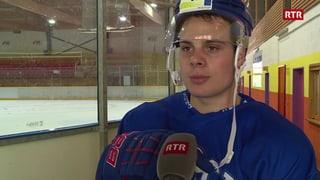 Vicecampiun svizzer da hockey sin visita a Scuol