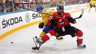 So lief die knappe Niederlage der Schweizer gegen Schweden
