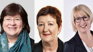 Noch drei Kandidatinnen für zwei Sitze in der Stadtregierung (Artikel enthält Bildergalerie)