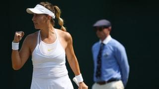 Bencic in Wimbledon weiter auf dem Vormarsch