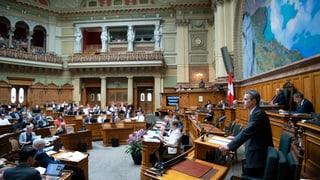 Cunvegna da migraziun sparta parlament svizzer