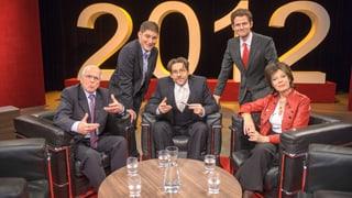 «Endspott – Der satirische Jahresrückblick» 2012