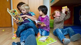 Jedes sechste Kind in Luzern wird im Vorschulalter fremdbetreut