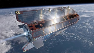 Tank leer: Satellit stürzt ab