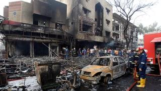 Über hundert Tote bei Anschlägen in Bagdad