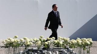 Frankreich erinnert an Opfer des Anschlags von Nizza