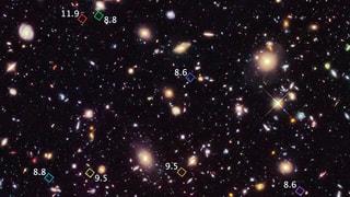 Hubble schiesst «Babybilder des Universums»