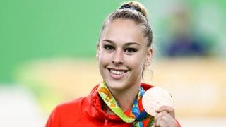 Giulia Steingruber siglia a la 5avla medaglia per la Svizra