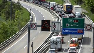 Am Gotthard ist Geduld gefragt