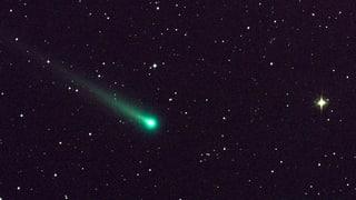 Wie entsteht der Kometenschweif?