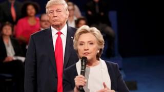 TV-Duell: Trump droht Hillary Clinton mit Gefängnis