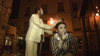 Video «Pierrots de la Nuit - In Paris sorgen Mimen für Nachtruhe» abspielen