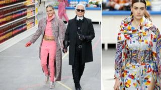 Lagerfeld schickt Ronja Furrer zum Einkaufen