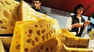Starker Franken setzt Käsebranche unter Druck