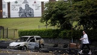 Unruhen in Belfast – heute vor allem ein sozialer Protest