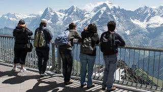 Bergtourismus leidet besonders unter starkem Franken