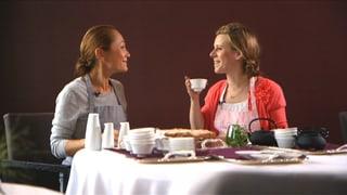 Video «Myriam bei Tanja Grandits, Spitzenköchin und Aroma-Queen » abspielen